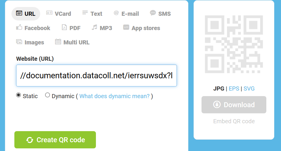 How can I create a QR Code for my survey? - Survalyzer Help